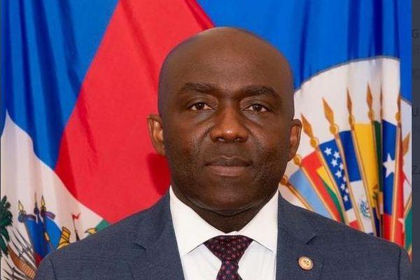 Haiti Léon Charles, directeur general de la Police