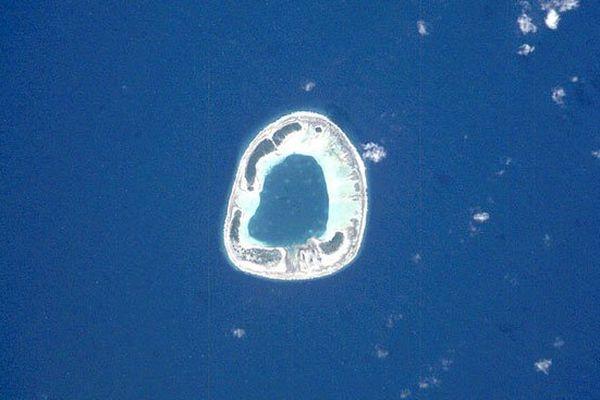 Anuanurunga, atoll des îles du Duc de Gloucester dans l'archipel des Tuamotu