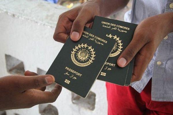 Passeports Comores