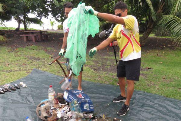 Opération nettoyage à la Taharu'u