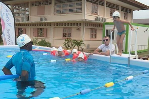 Ma Guyane nage à Régina