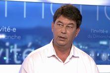 Thierry Santa, invité du journal télévisé le 1er août 2021 en tant que président du Rassemblement.