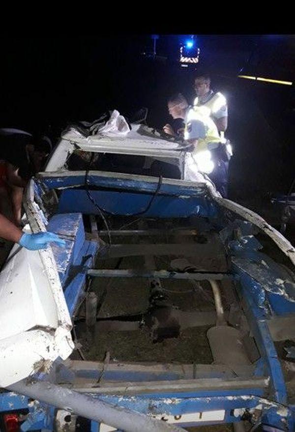 accident mortel à Papara