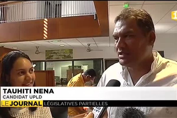 Tauhiti Nena candidat indépendantiste à la députation