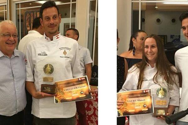 les vainqueurs du concours meilleur pâtissier