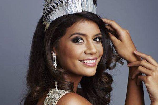 Vaimiti Teiefitu, Miss Tahiti 2015, candidate Miss France 2016