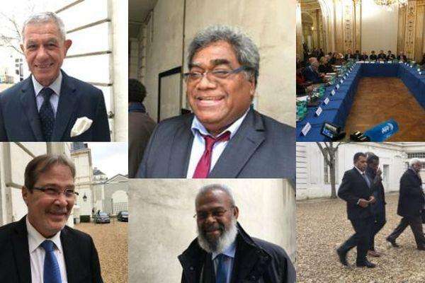 Comité des signataires le 27 mars 2018