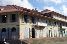 Le musée Alexandre  Franconie à Cayenne, bâtiment classé