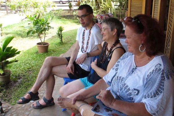 Jean-Félix et ses deux mamans