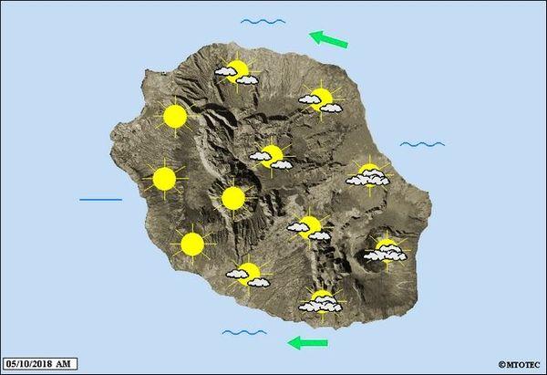 Carte météo 5 octobre 2018