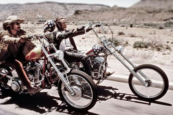 Peter Fonda et Dennis Hopper, Easy ride, 1969