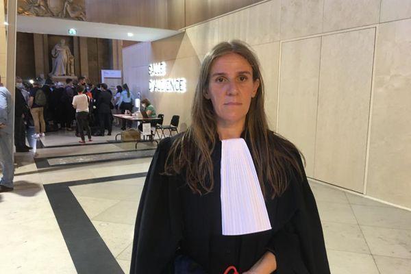 Maître Claire Josserand-Schmidt, avocate de la famille de Jean-Jacques Kircheim
