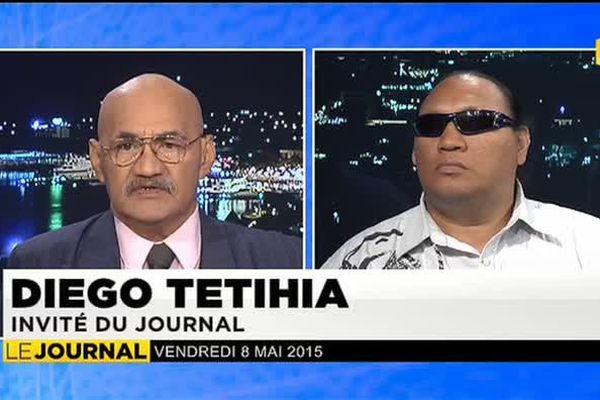 Invité du JT Diego Tetihia, porte parole de l'association de non voyants 6e sens