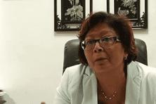 Marie-Laure Phinera-Horth, maire de Cayenne