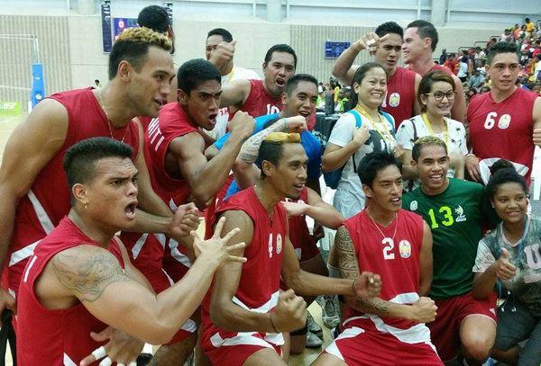 Volley Tahiti Hommes