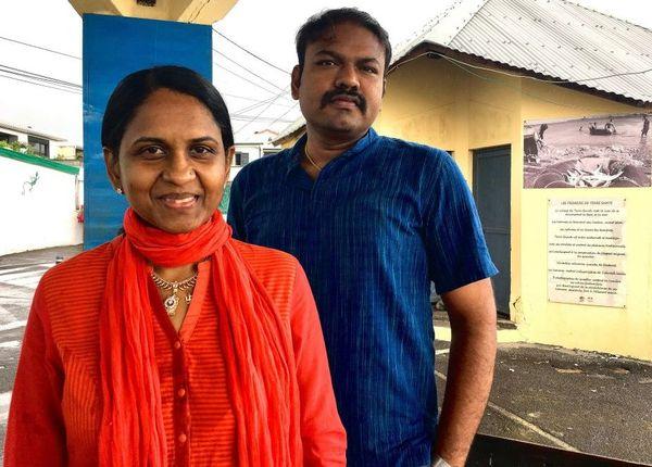 Sabndra Mouniama et docteur parthasarathy