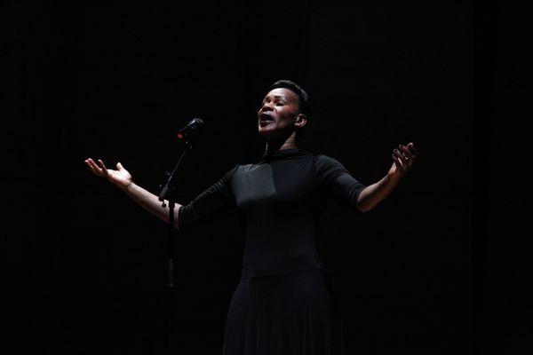 """""""Moi Tituba, sorcière"""" de Danielle Gabou au Festival d'Avignon"""