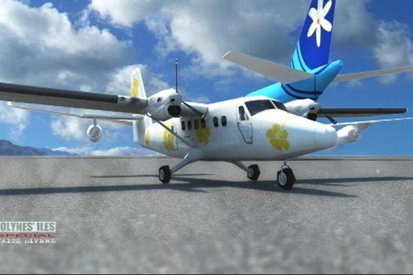 Crash air moorea