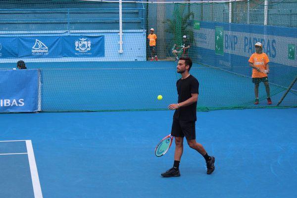 Rubin avait sorti Benoit Paire au 1er tour de l'Open d'Australie 2016.