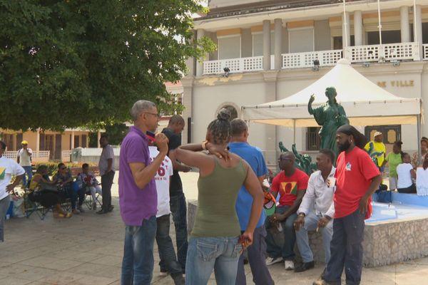 Mouvement de grève commune de Sainte Rose