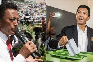 Marc Ravalomanana et  Andry Rajoelina