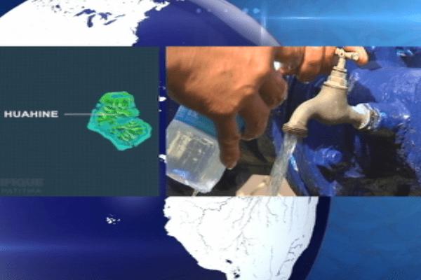 Huahine : des coupures d'eau