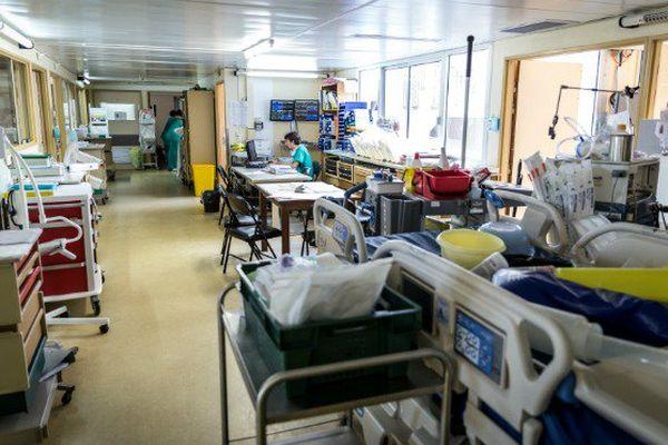 L'hôpital de Cayenne.
