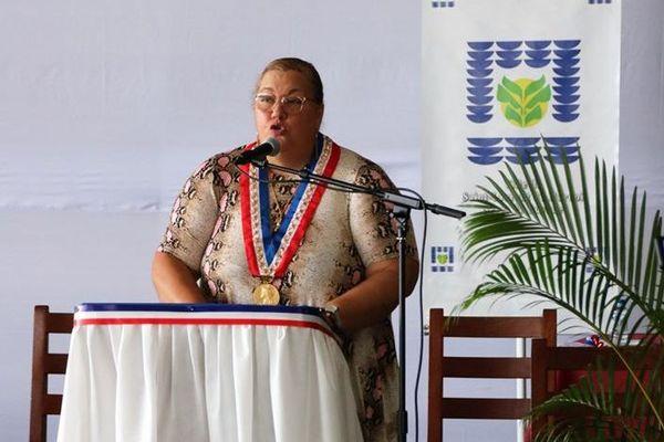 Sophie Charles maire de Saint-Laurent
