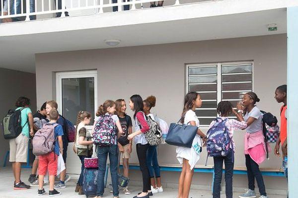 A Saint-Martin, tous les élèves attendus à l'école lundi