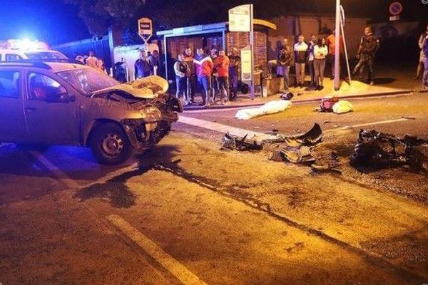 accident mortel scootériste 36 ans décédé Sainte-Suzanne 210619