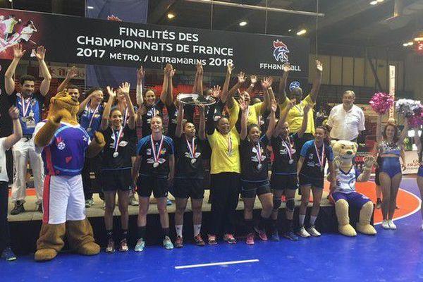 Hand filles Finale championnat de France 09 06 18
