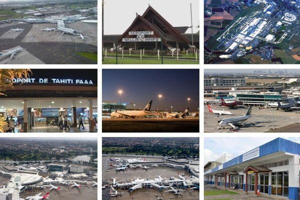 Mosaïque aéroport