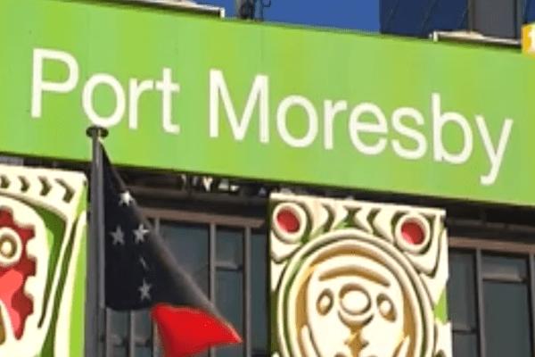 port moresby jeux