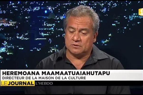 L'invité du journal : Heremoana Maamaatuaiahutapu, Directeur de la Maison de la Culture