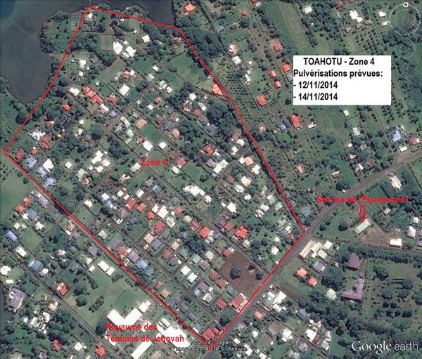 zone pulvérisation Toahutu