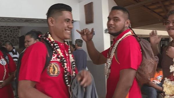 Falemana Aveuki, jeune sportif handisport sera le porte drapeau de Wallis et Futuna aux Minijeux du Vanuatu