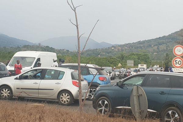 embouteillages à Passamainti