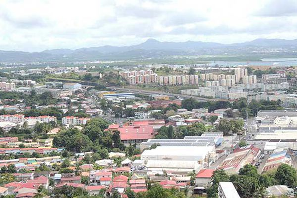 Martinique vue sur FDF