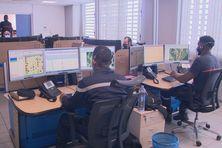 Centre de traitement des appels d'urgence (18), au sein du SDIS Guadeloupe