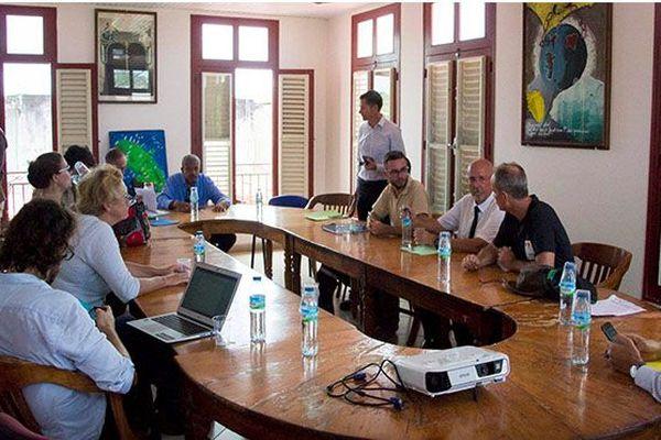 Lahars  mission en Martinique