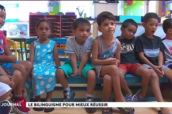 Education : l'expérience du bilinguisme en maternelle