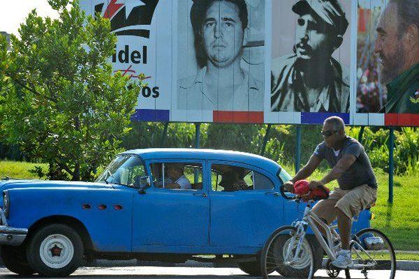 Les Cubains fêtent les 90 ans de Fidel Castro