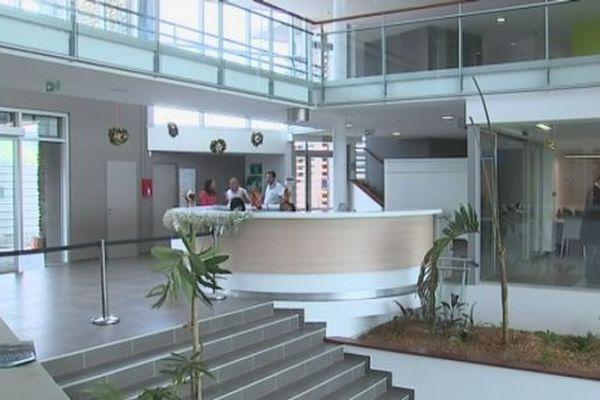 Reprise photo intérieur nouvelle mairie Dumbéa
