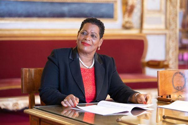 Victoire Jasmin Sénatrice de la Guadeloupe