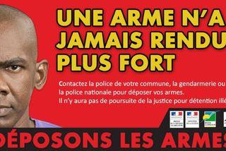 """Campagne """"Déposons les armes"""""""
