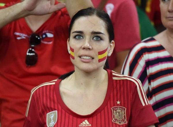 Supporter espagnole