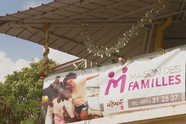 La maison des familles à Cayenne