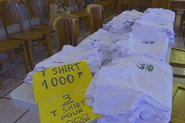 Vente de t shirts Téléthon