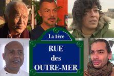 De gauche à droite et de haut en bas : Michel Pichan, Thierry Lo Shung Line, Valérie Chane Tef, David Tariffe et Farid Ingar.
