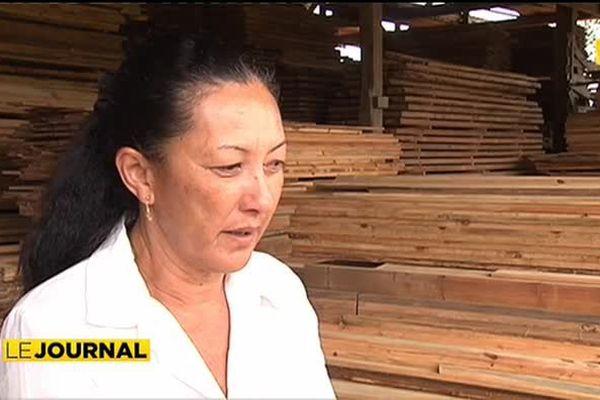 Stéphanie Tau – Ansquer , une femme à la tête de la filière bois de Tubuaï